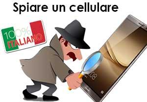 spiare un cellulare italiano